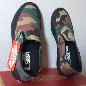 Vans Slip-On Pro Camo, Black8.5